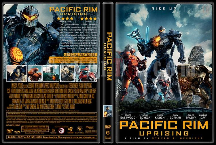 Pacific Rim Uprising (Pasifik Savaşı İsyan) - Custom Dvd Cover - English [2018]-1jpg