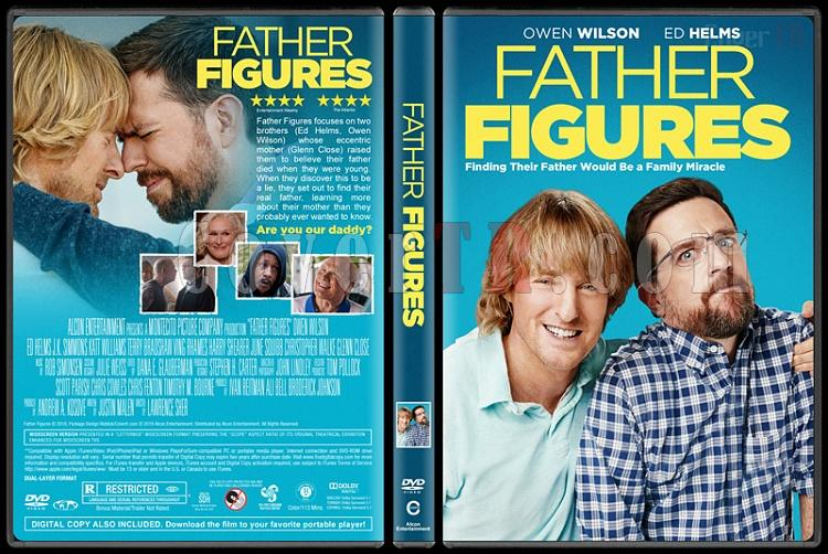 Father Figures (Baban Kim?) - Custom Dvd Cover - English [2017]-1jpg