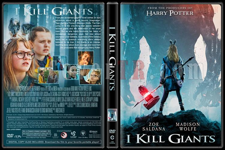 I Kill Giants (Dev Avcısı) - Custom Dvd Cover - English [2017]-1jpg