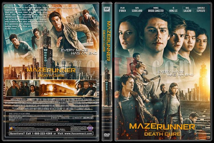 Maze Runner: The Death Cure - Custom Dvd Cover - English [2018]-1jpg