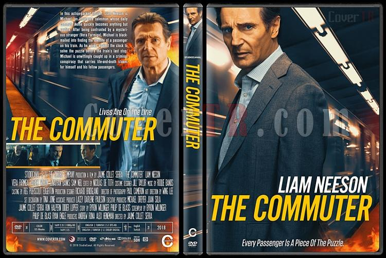 The Commuter (Yolcu) - Custom Dvd Cover - English [2018]-1jpg