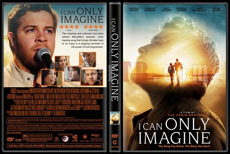 I Can Only Imagine - Custom Dvd Cover - English [2018]-1jpg