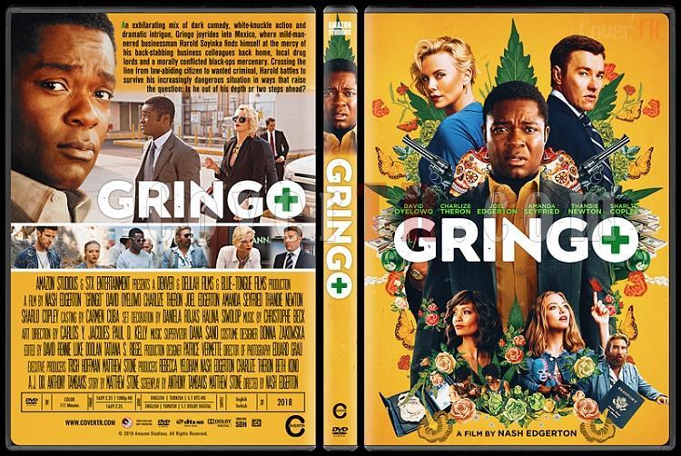 Gringo - Custom Dvd Cover - English [2018]-1jpg