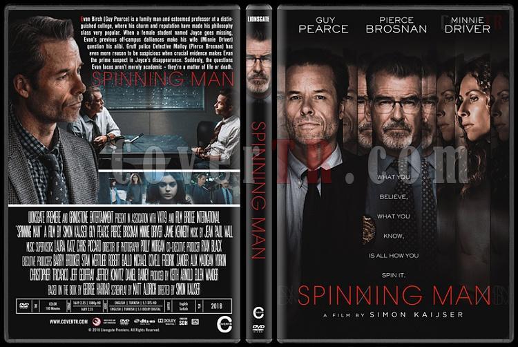 Spinning Man - Custom Dvd Cover - English [2018]-1jpg