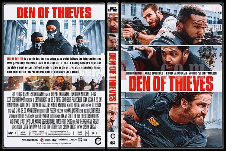 Den of Thieves (Suçlular Şehri) - Custom Dvd Cover - English [2018]-1jpg