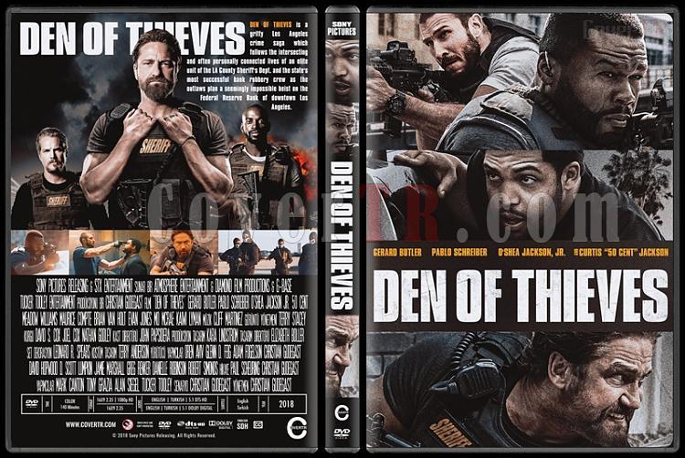 Den of Thieves (Suçlular Şehri) - Custom Dvd Cover - English [2018]-2jpg