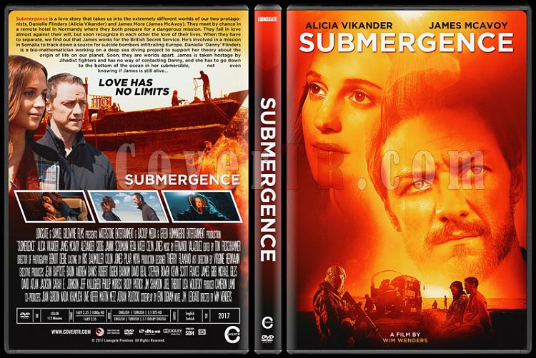 Submergence (Derin Sular) - Custom Dvd Cover - English [2017]-1jpg