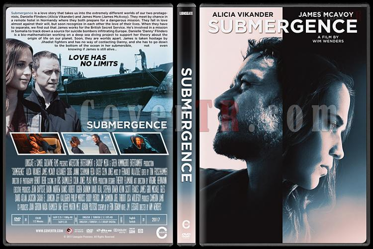 Submergence (Derin Sular) - Custom Dvd Cover - English [2017]-1jpg