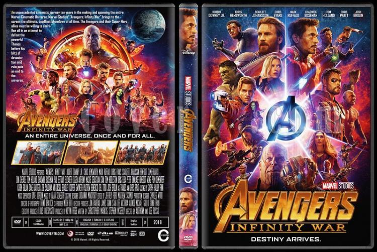 Avengers: Infinity War (Yenilmezler: Sonsuzluk Savaşı) - Custom Dvd Cover - English [2018]-3jpg
