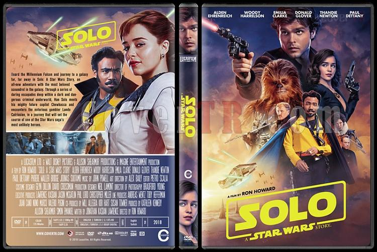 Solo: A Star Wars Story (Han Solo: Bir Star Wars Hikayesi) - Custom Dvd Cover - English [2018]-2jpg