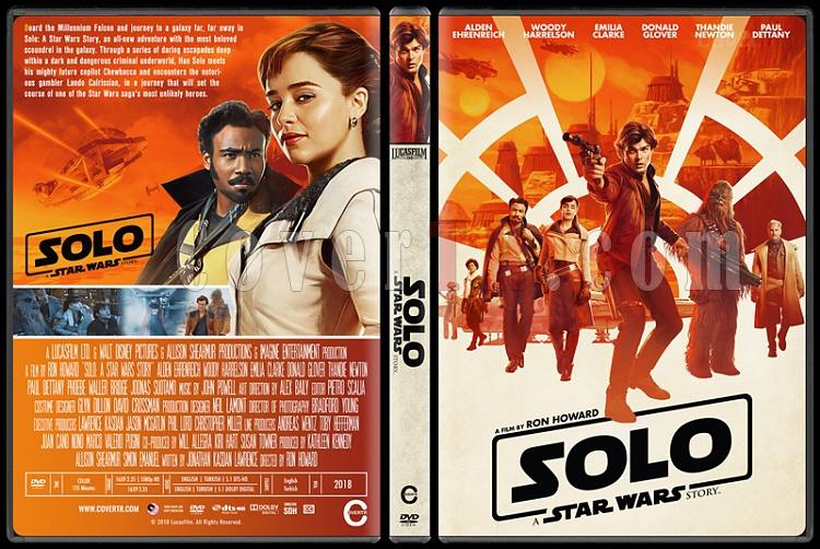 Solo: A Star Wars Story (Han Solo: Bir Star Wars Hikayesi) - Custom Dvd Cover - English [2018]-1jpg