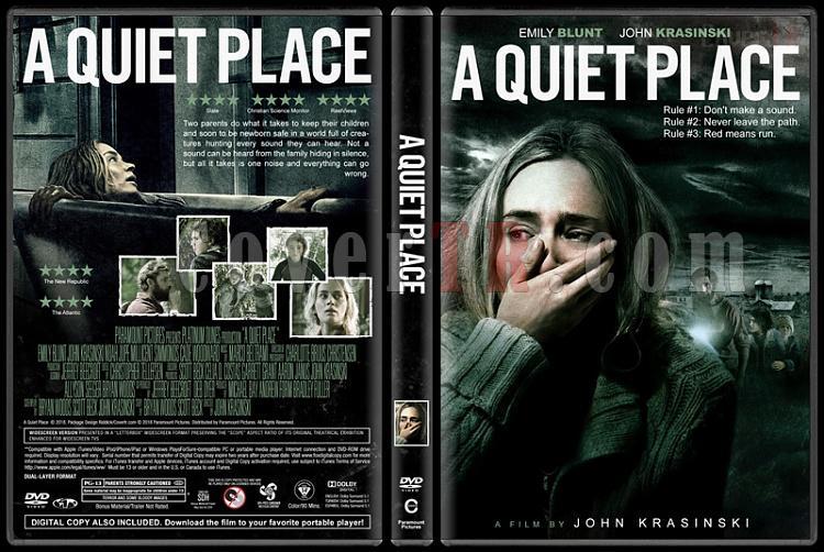 A Quiet Place (Sessiz Bir Yer) - Custom Dvd Cover - English [2017]-01jpg
