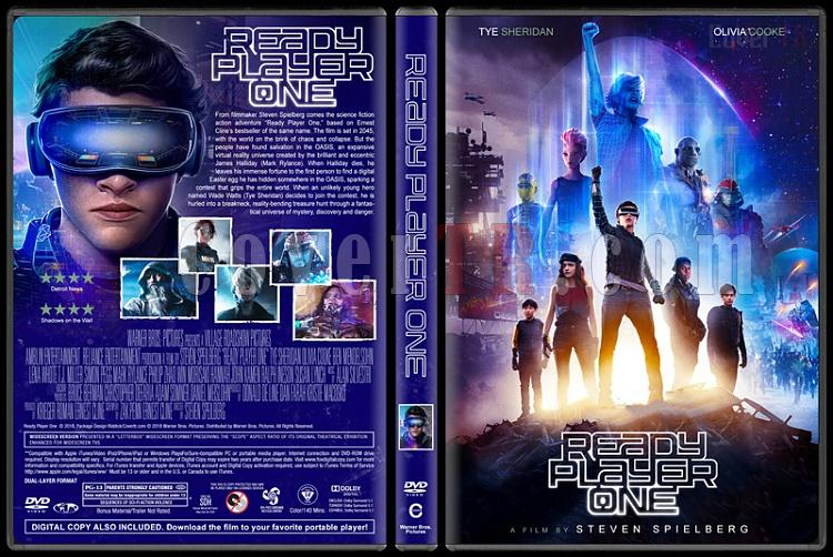 Ready Player One (Başlat) - Custom Dvd Cover - English [2018]-1jpg