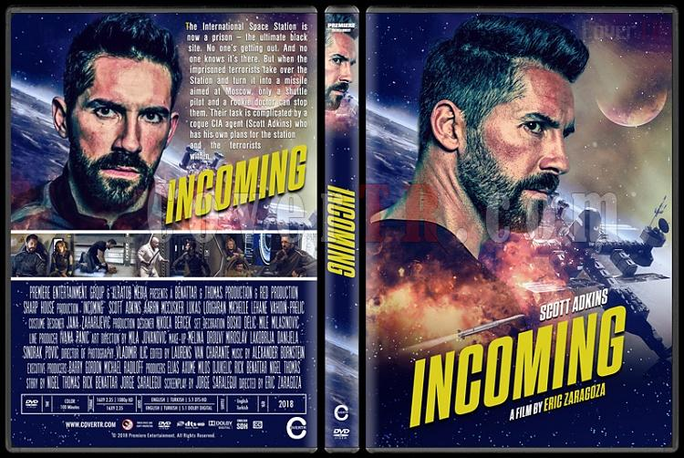 Incoming - Custom Dvd Cover - English [2018]-2jpg
