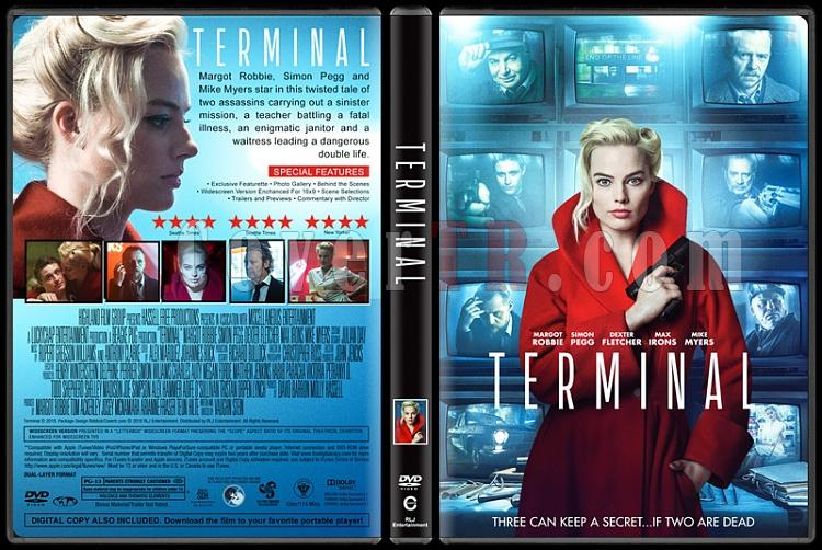 Terminal - Custom Dvd Cover - English [2018]-1jpg