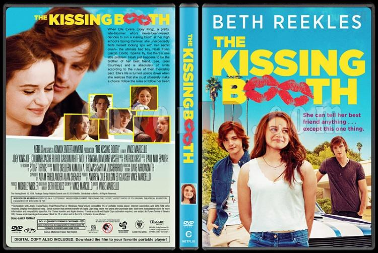 The Kissing Booth (Delidolu) - Custom Dvd Cover - English [2018]-1jpg