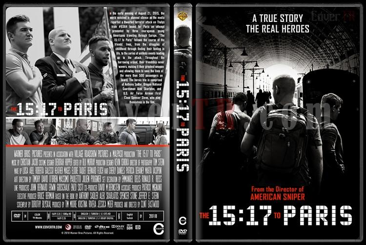 The 15:17 to Paris (15:17 Paris Treni) - Custom Dvd Cover - English [2018]-1jpg