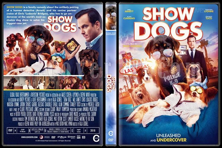 Show Dogs - Custom Dvd Cover - English [2016]-2jpg