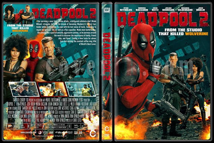 Deadpool 2 - Custom Dvd Cover - English [2018]-01jpg