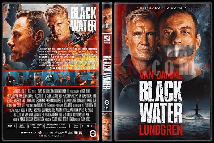 Black Water - Custom Dvd Cover - English [2018]-3jpg