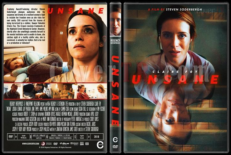 Unsane (Saplantı) - Custom Dvd Cover - English [2018]-2jpg