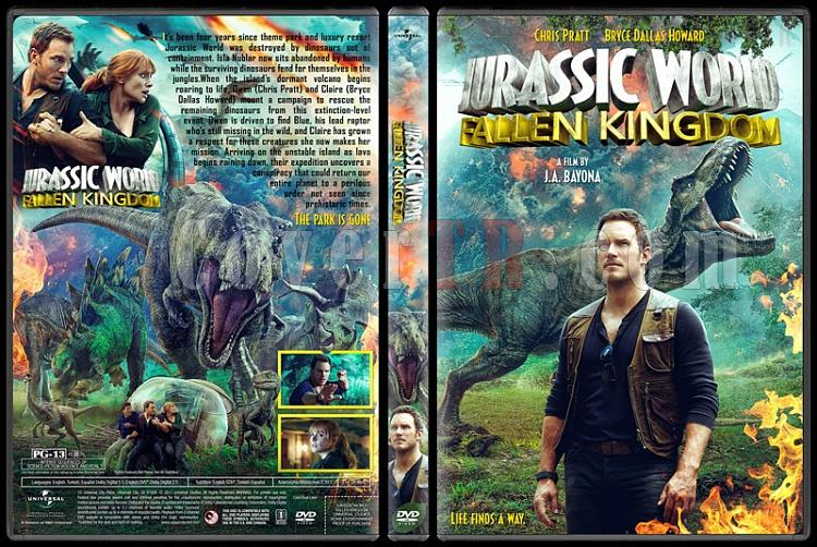 Jurassic World: Fallen Kingdom - Custom Dvd Cover - English [2018]-1jpg
