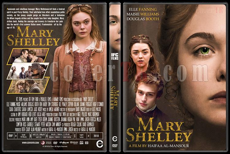 Mary Shelley - Custom Dvd Cover - English [2018]-1jpg