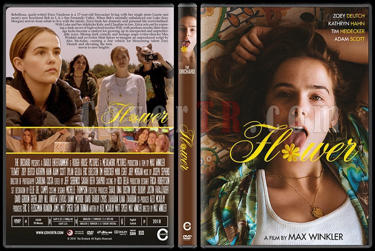 Flower - Custom Dvd Cover - English [2018]-2jpg