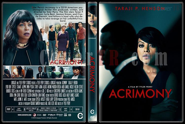 Acrimony - Custom Dvd Cover - English [2018]-standardjpg