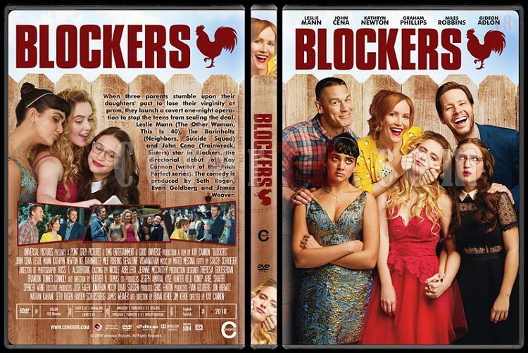 Blockers - Custom Dvd Cover - English [2018]-22jpg