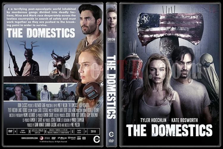 The Domestics - Custom Dvd Cover - English [2018]-standardjpg