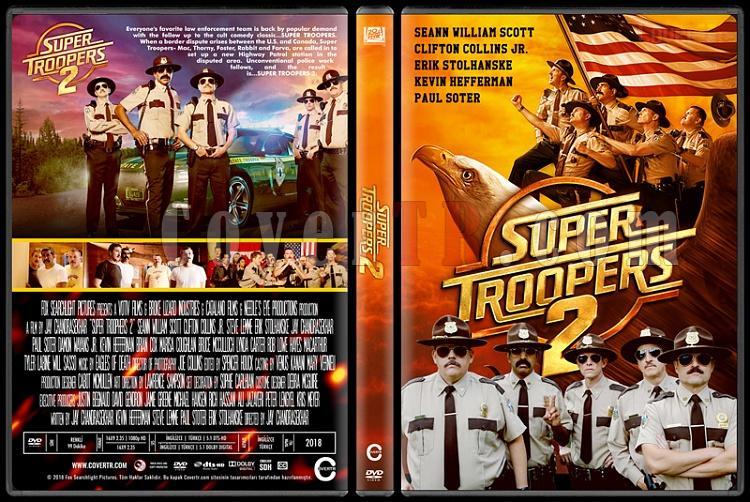 Super Troopers 2 - Custom Dvd Cover - English [2018]-1jpg