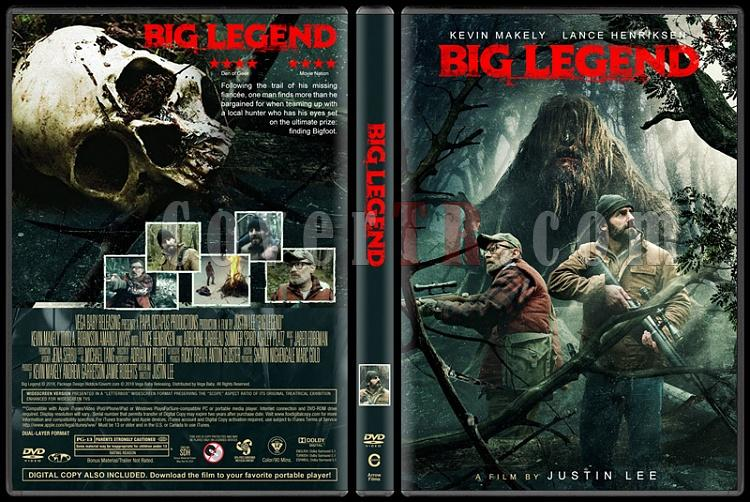 Big Legend - Custom Dvd Cover - English [2018]-1jpg