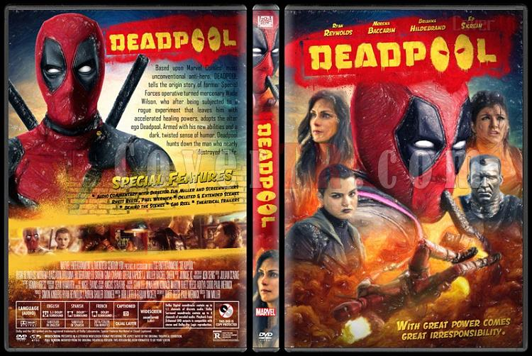 Deadpool - Custom Dvd Cover - English [2016]-2jpg