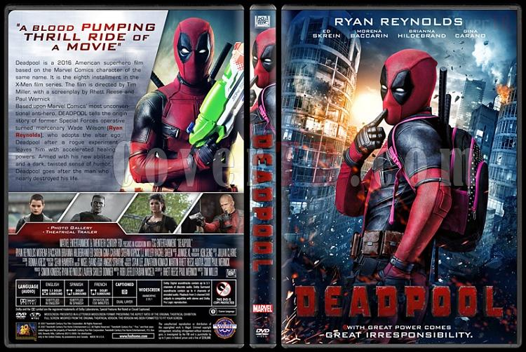 Deadpool - Custom Dvd Cover - English [2016]-04jpg