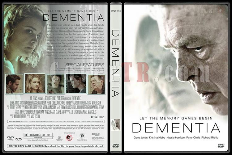 Dementia - Custom Dvd Cover - English [2015]-01jpg