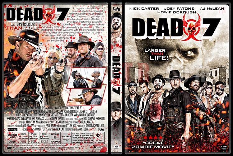 Dead 7 - Custom Dvd Cover - English [2016]-01jpg