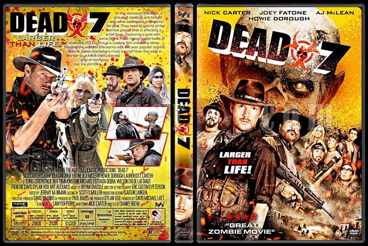 Dead 7 - Custom Dvd Cover - English [2016]-02jpg
