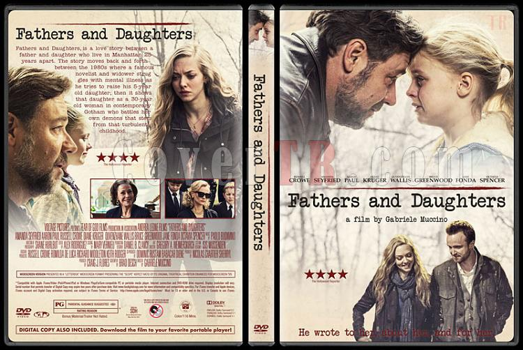 Fathers & Daughters (Babalar ve Kızları) - Custom Dvd Cover - English [2015]-v1jpg