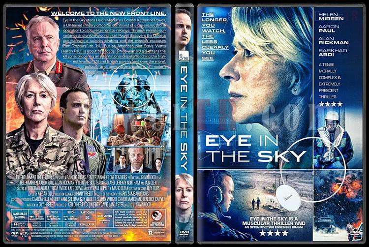 Eye In The Sky ölüm Emri Custom Dvd Cover English 2015 Covertr