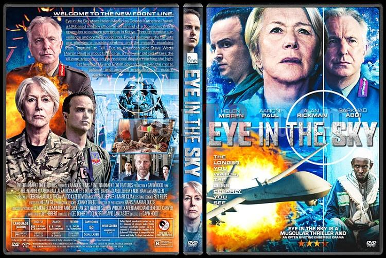 Eye in the Sky (Ölüm Emri) - Custom Dvd Cover - English [2015]-v2jpg