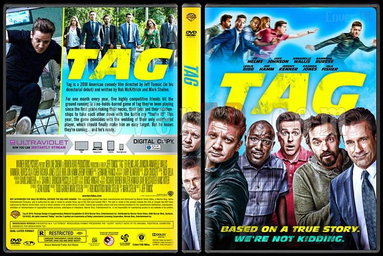 Tag (Yakalandın!) - Custom Dvd Cover - English [2018]-02jpg
