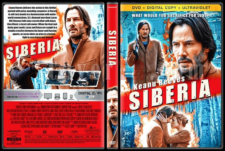 Siberia (Sibirya) - Custom Dvd Cover - English [2018]-02jpg