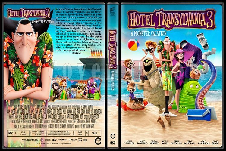 Hotel Transylvania 3: Summer Vacation (Otel Transilvanya 3: Yaz Tatili) - Custom Dvd Cover - English [2018]-01jpg