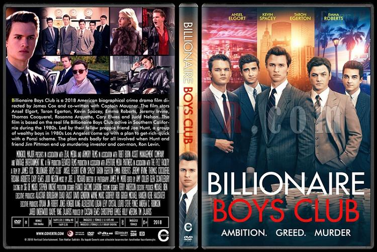 Billionaire Boys Club - Custom Dvd Cover - English [2018]-01jpg