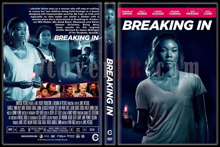 Breaking In - Custom Dvd Cover - English [2018]-02jpg