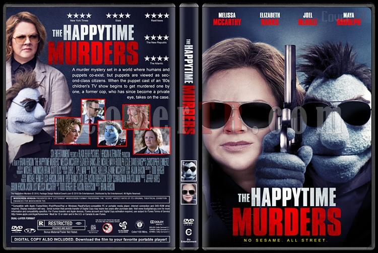 The Happytime Murders (Edepsiz Kuklalar) - Custom Dvd Cover - English [2018]-06jpg