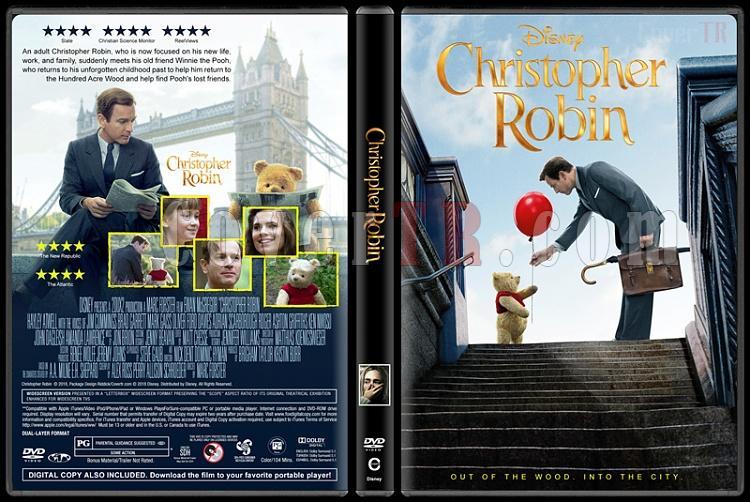 Christopher Robin - Custom Dvd Cover - English [2018]-01jpg