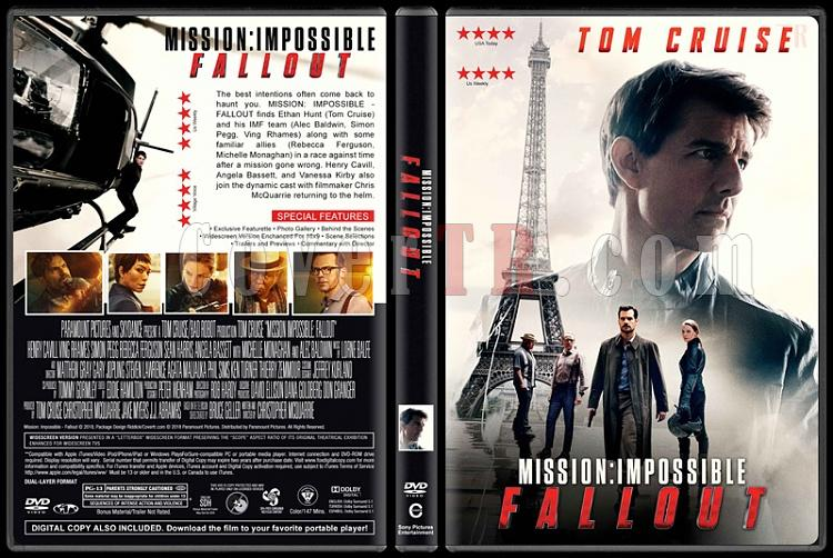 Mission: Impossible - Fallout - Custom Dvd Cover - English [2018]-03jpg