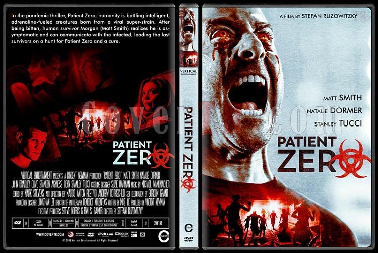 Patient Zero - Custom Dvd Cover - English [2018]-02jpg